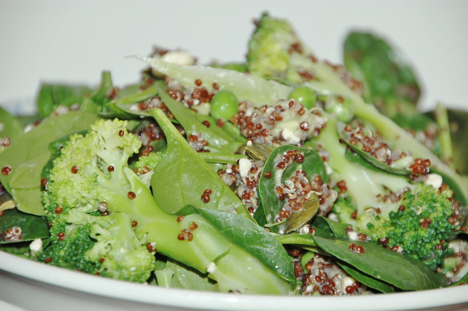 Quinoa with greens and pistachio pesto healthy home cafe i do love a jamie oliver recipe his no fuss attitude but careful blend of textures and flavours really is something to be admired and this salad is a good forumfinder Choice Image